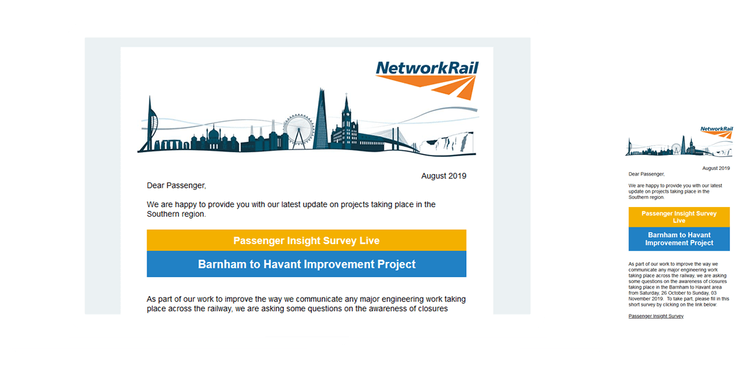 Featured Case Study - Network Rail